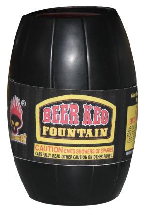 beer keg fountain