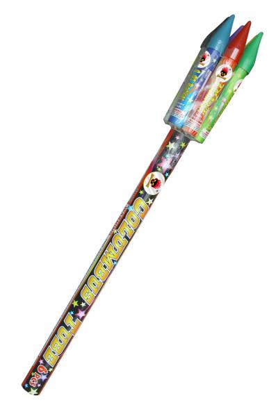 columbus tube rockets 6pc