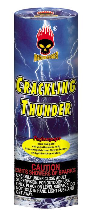 crackling thunder