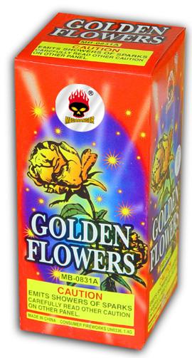 golden flower fountain large