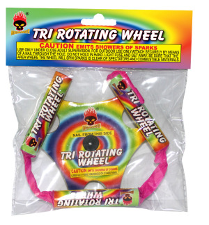 tri rotating wheel